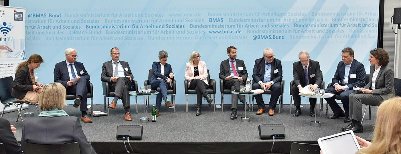 Die Podiumsdiskussion in Berlin 05_04_2019